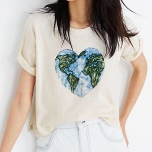 Madewell x Surfrider Foundation Mother Earth Tee